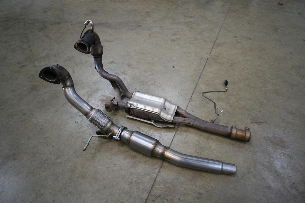 The Audi Tt Forum View Topic Blueflame 3 Quot Downpipe Tt
